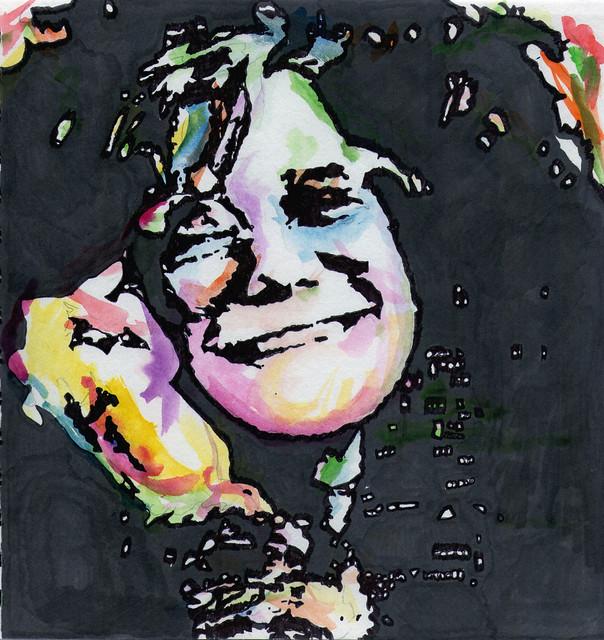 Janis Joplin Drawing