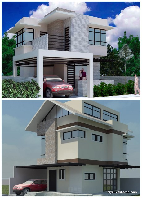 Nuvali house perspectives  - roofdeck