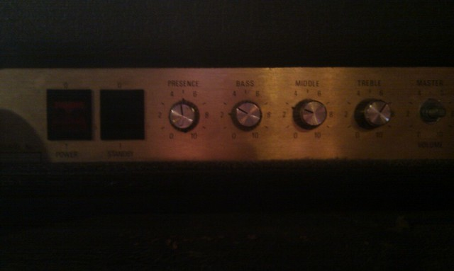 Photo:Great settings on the Marshall head By wetwebwork