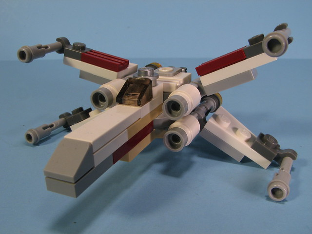 lego mini x wing instructions