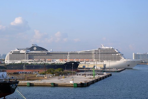 Cruise ship - MSC Poesia