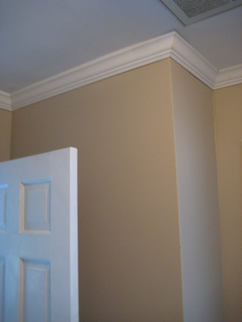 how to cut a crown moulding outside corner
