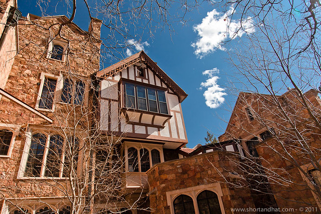 Glen Eyrie Castle Short And Hat Travel Blog