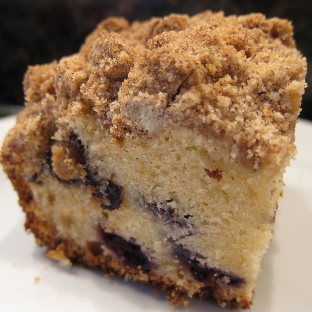 Blueberry Crumb Cake | Flickr - Photo Sharing!