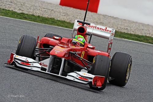 Felipe Massa Ferrari 150° Italia F1 Testing Day 13 2011 2