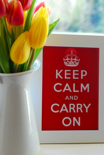 keeping calm