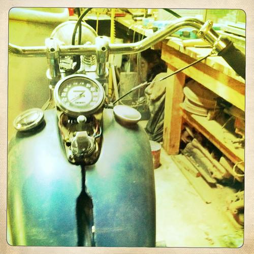55 Harley Davidson Panhead