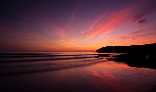 Croyde Sunset - Vote for me.