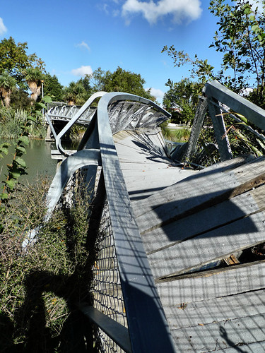 Earthquake damage - bridge