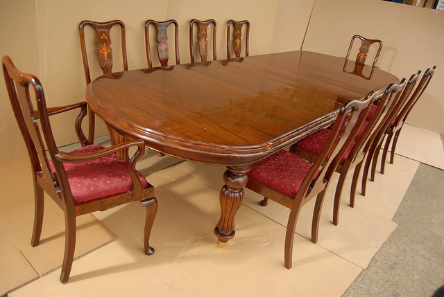 Queen Anne Inlay Chairs Mahogany Victorian Dining Table  : 5531989119dae78ce2f5z from www.flickr.com size 500 x 336 jpeg 105kB