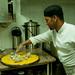 Carefully Arranging Meat for Mansaf - Dana, Jordan