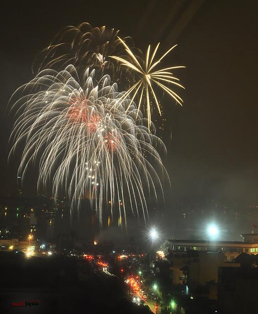 Fireworks Hanoi 2011