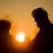 Puesta de sol entre Nati y Richard by Carlos.Carreter