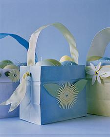 Paper Easter Baskets