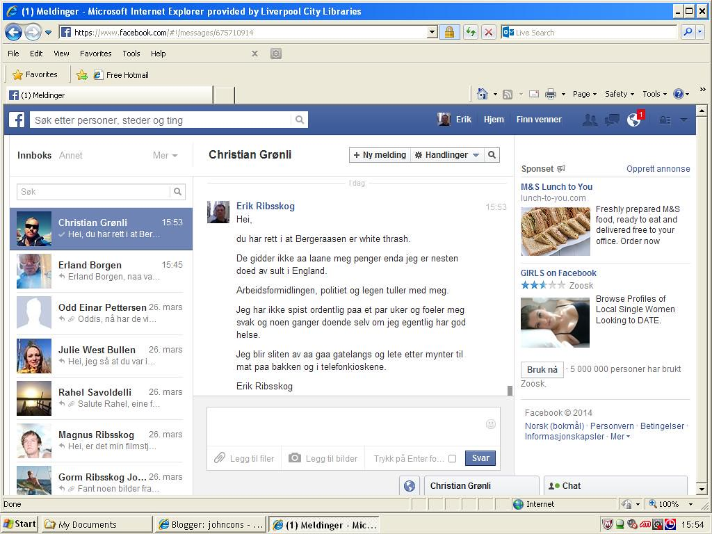 gronli facebook