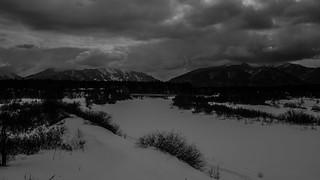 Looking away from Lake Baikal