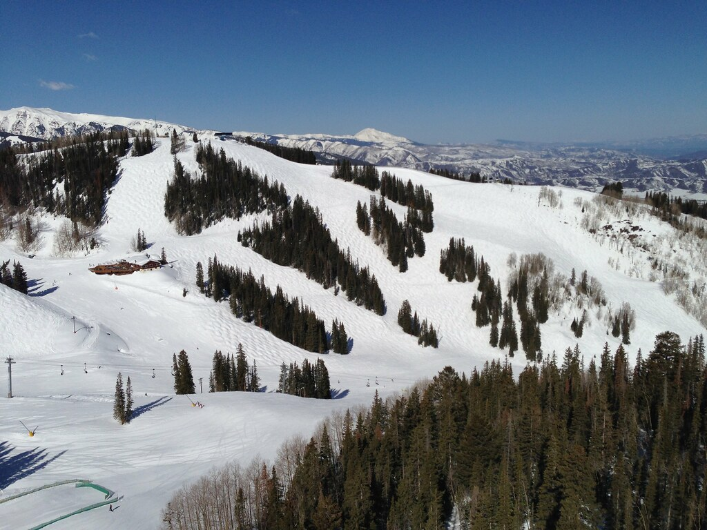 Ski terrain at Aspen