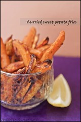 Yummy Curried Sweet Potato Fries