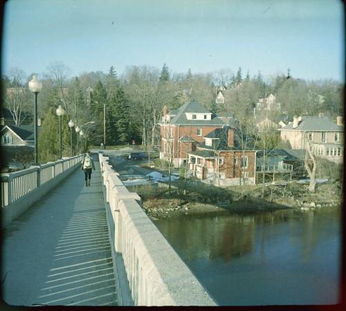 Speed River Walking Bridge by hpulley