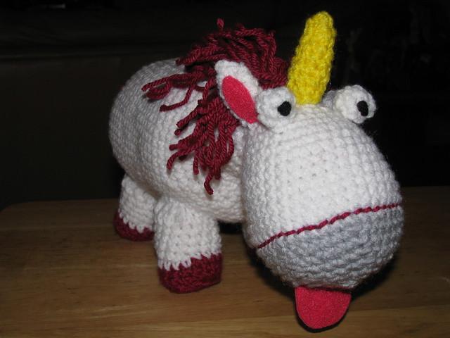 Amigurumi Unicornio Gru : Despicable me unicorn amigurumi flickr photo sharing
