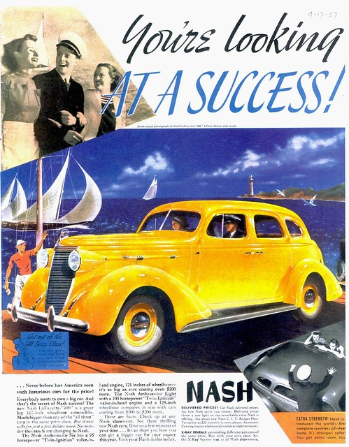 1937 Nash LaFayette-400 4-Door Trunk Sedan