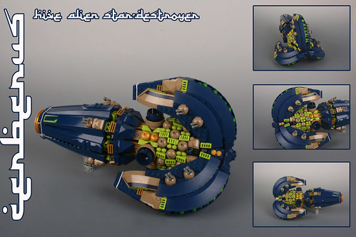 """CERBERUS"" Alien hive star-destroyer"