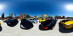 Auto show panoramic