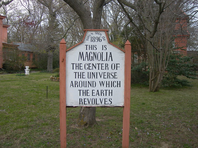 Egotistical Town Sign