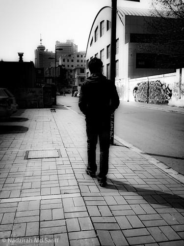 Walking on The Street..