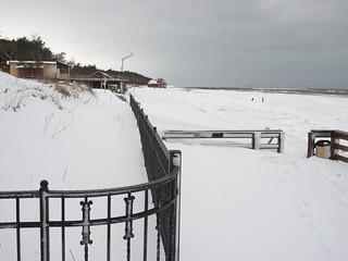 Plaża A 의 이미지. schnee winter geotagged poland polska polen pommern swow geo:lat=5476832821432779 geo:lon=17562922067459112