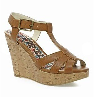 Next Tan Wedges