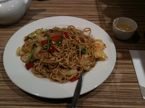Spicy Pork Fried Noodle