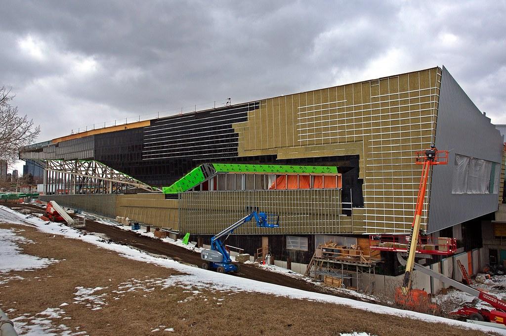 Clarke Park Recreation Center Commonwealth Under Construction
