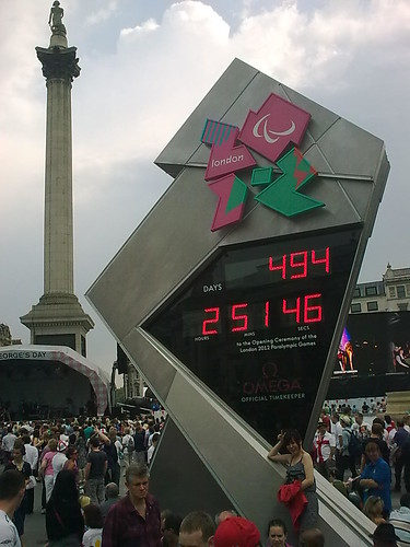 The Countdown to London Paralympics