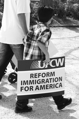 Immigration Reform Rally 2010 by Anuska Sampedro