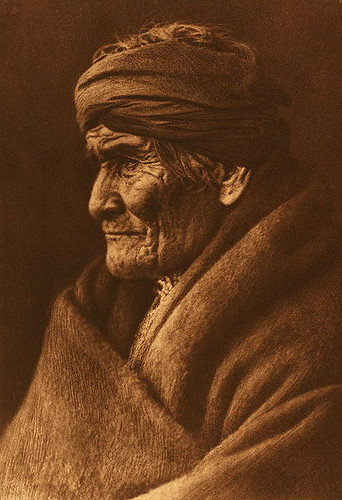 Geronimo by Edward S. Curtis