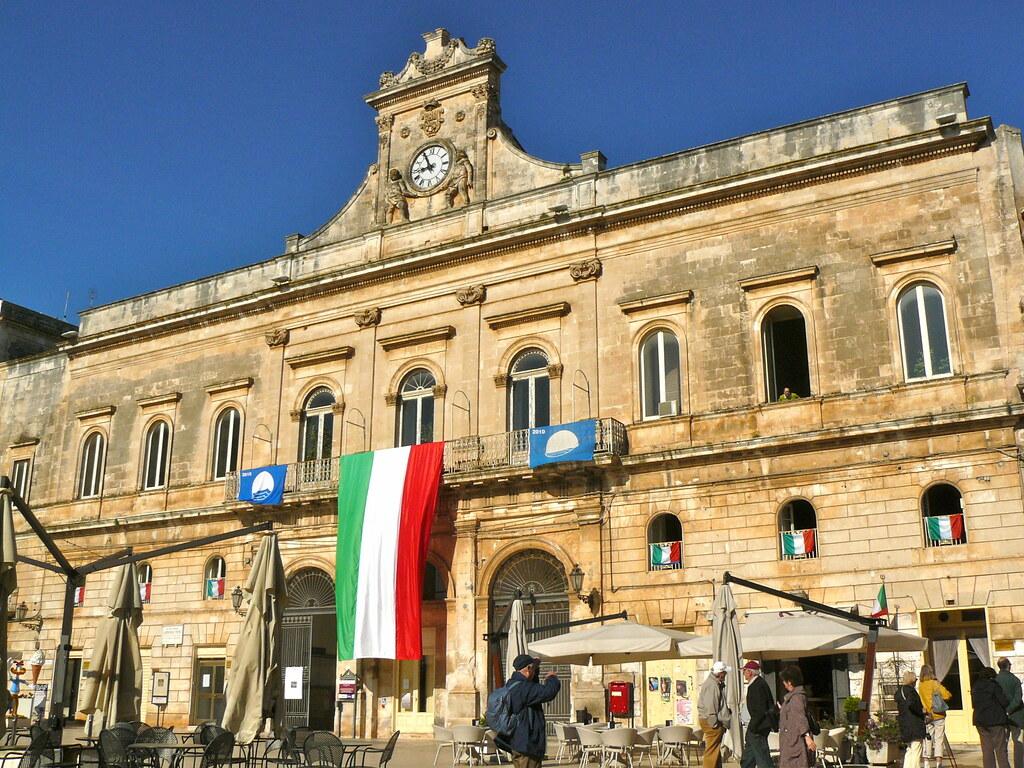 Ostuni, Pouilles, Italie: Palazzo Municipale (ancien palais ducal)