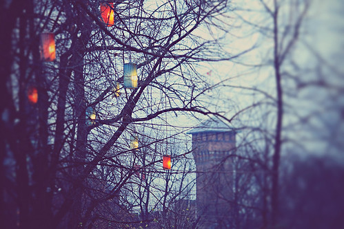 Faith means living with uncertainty - feeling your way through life, letting your heart guide you like a lantern in the dark.