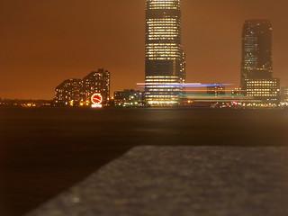Image of Colgate Clock. new york city nyc ny clock sign harbor spring cove north may nj jersey colgate 2011