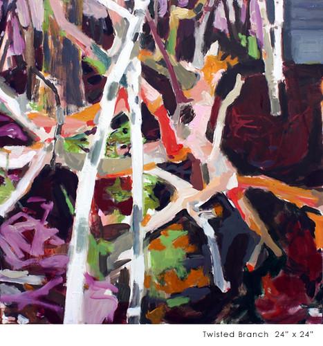 "Allison Gildersleeve ""Twisted Branch"""
