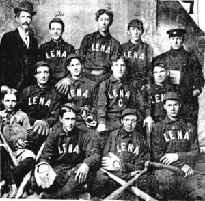Lena Baseball 1907