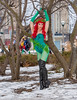 Poison Ivy at March Toronto Comic Con 2014
