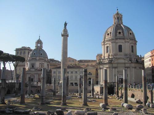Column of Trajan in context
