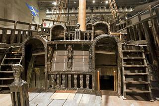 Cubierta del Vasa buque de guerra Vasa, viaje a Estocolmo 1628 - 14060575832 30d5c63a60 n - buque de guerra Vasa, viaje a Estocolmo 1628