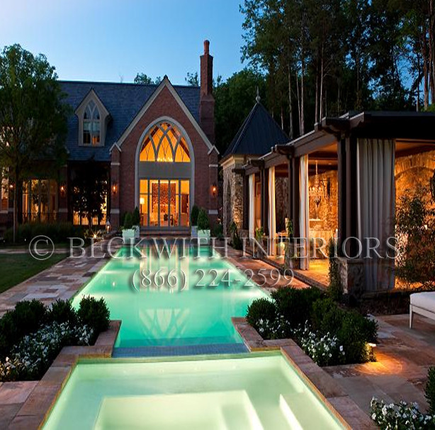 Luxury Pool House: Beautiful Luxury Pool Cabana