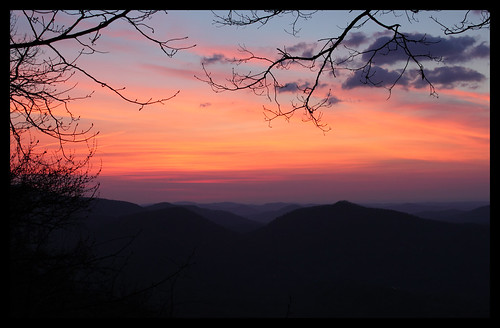 travel sunrise georgia dawn blackrockmountain blackrockmountainstatepark rabuncounty