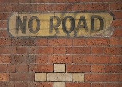 Melbourne 2011 - No Road Sign