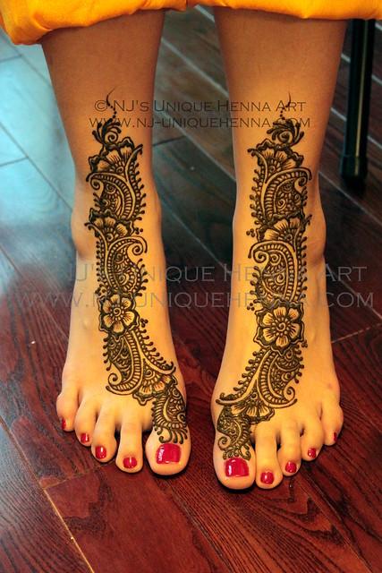 Bridal Mehndi Rates Nj : Henna s bridal mehndi feet nj unique art