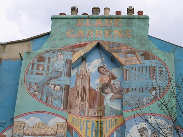 Slade Gardens Adventure Playground Mural