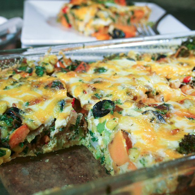 Sweet Potato Broccoli Frittata-8   Flickr - Photo Sharing!